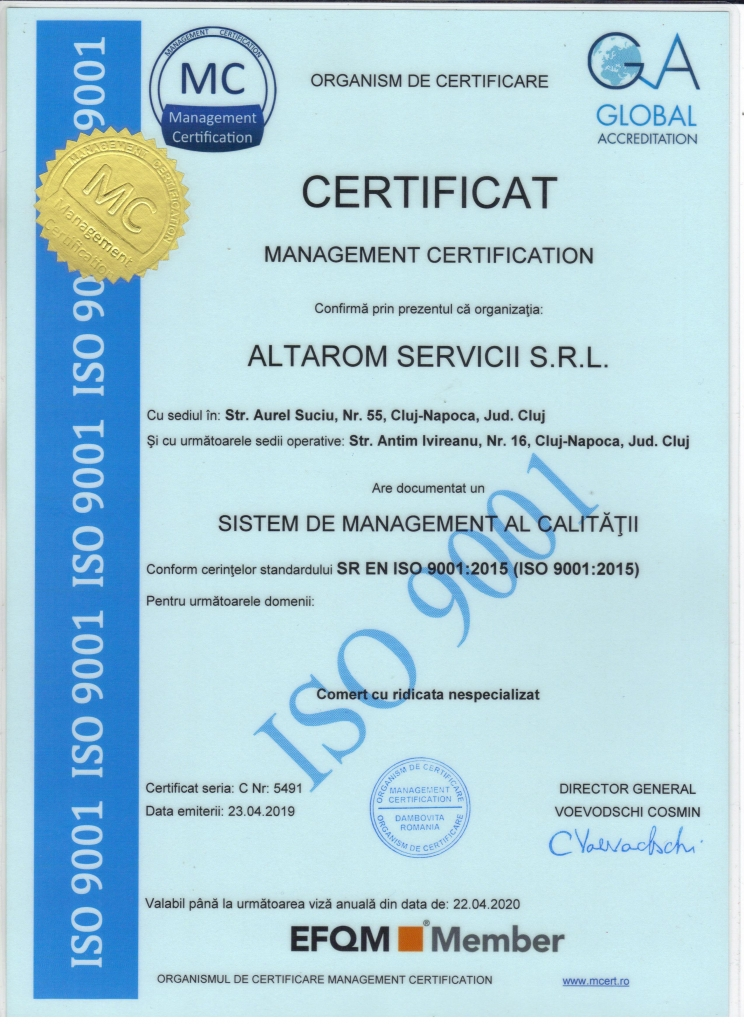 ISO 9001 20200422